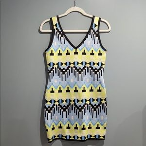 Aztec Print Tank Dress